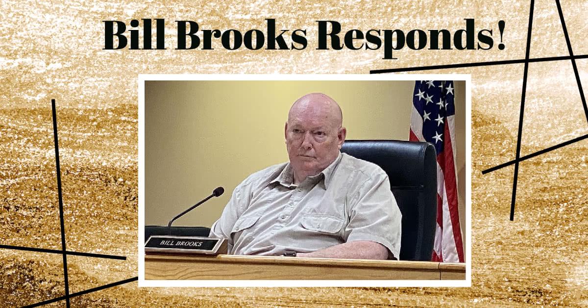 Bill Brooks Responds