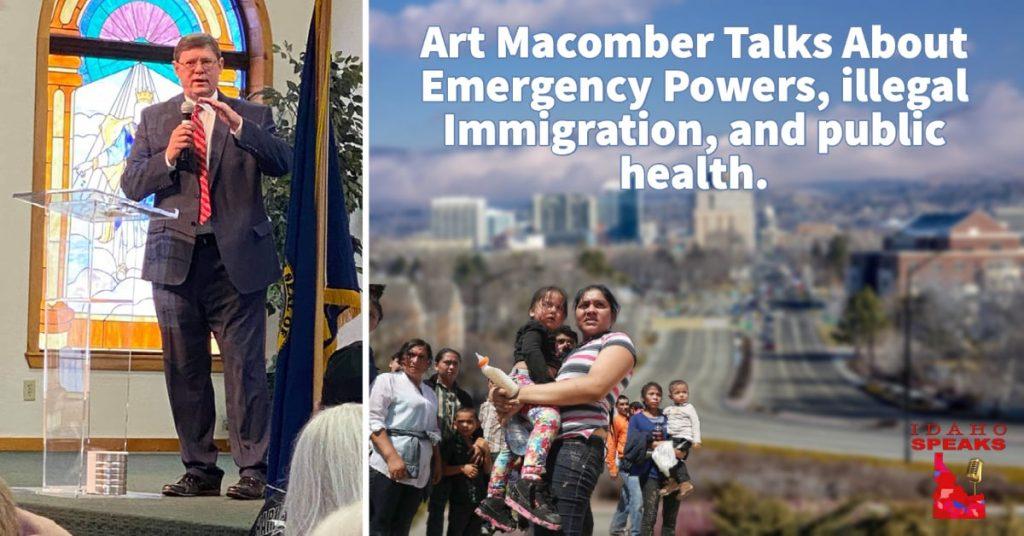 Art Macomber emergency powers