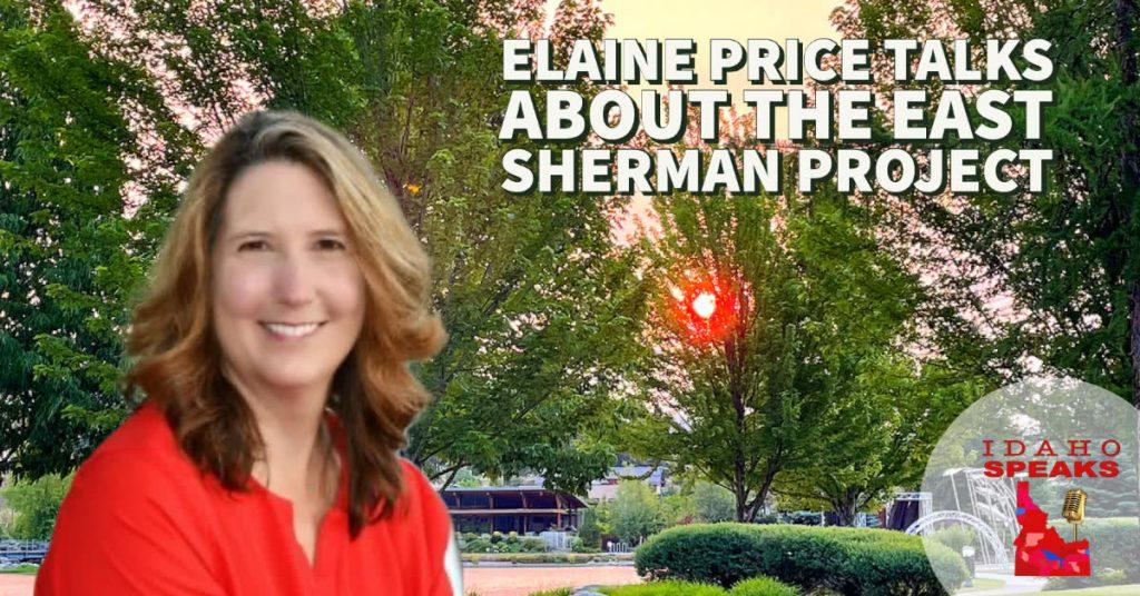 Elaine Price Talks East Sherman Ave