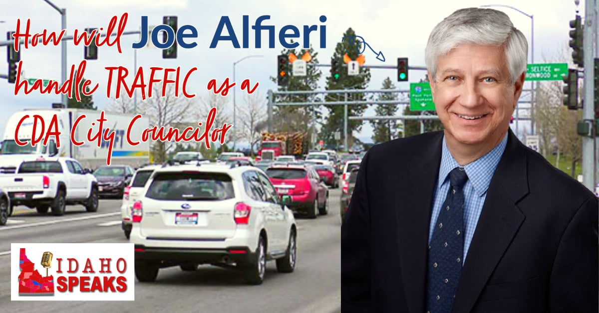 Joe Alfieri Talk about traffic