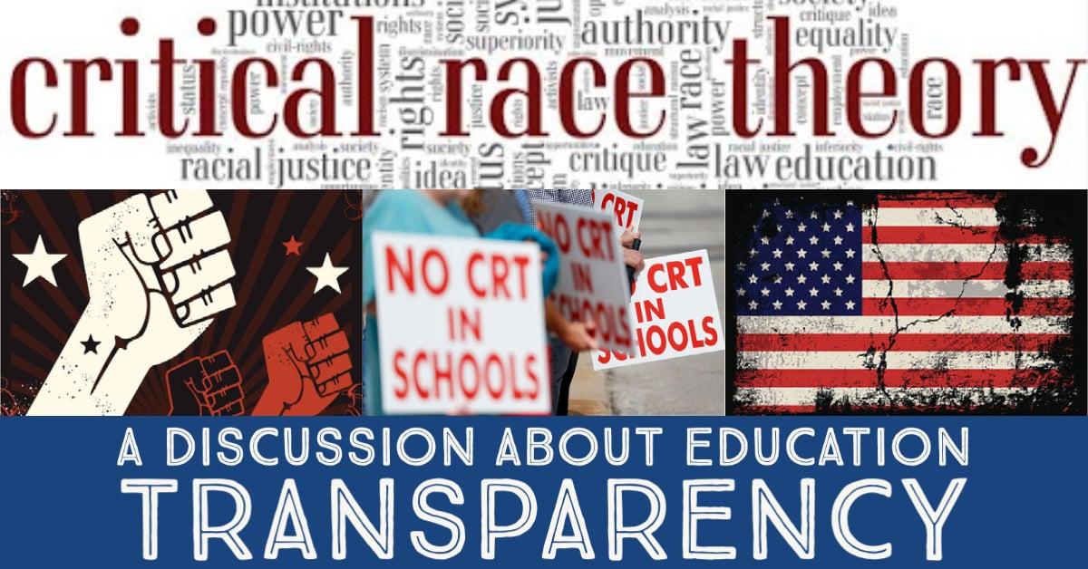 CRT and Education Transparency