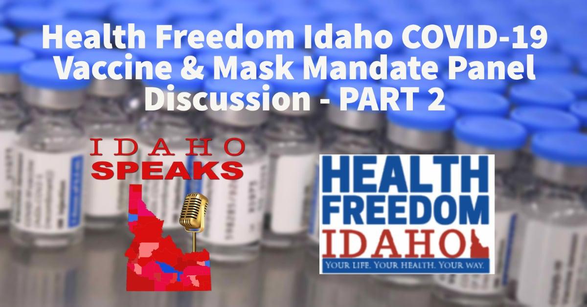 Health Freedom Idaho Part 2