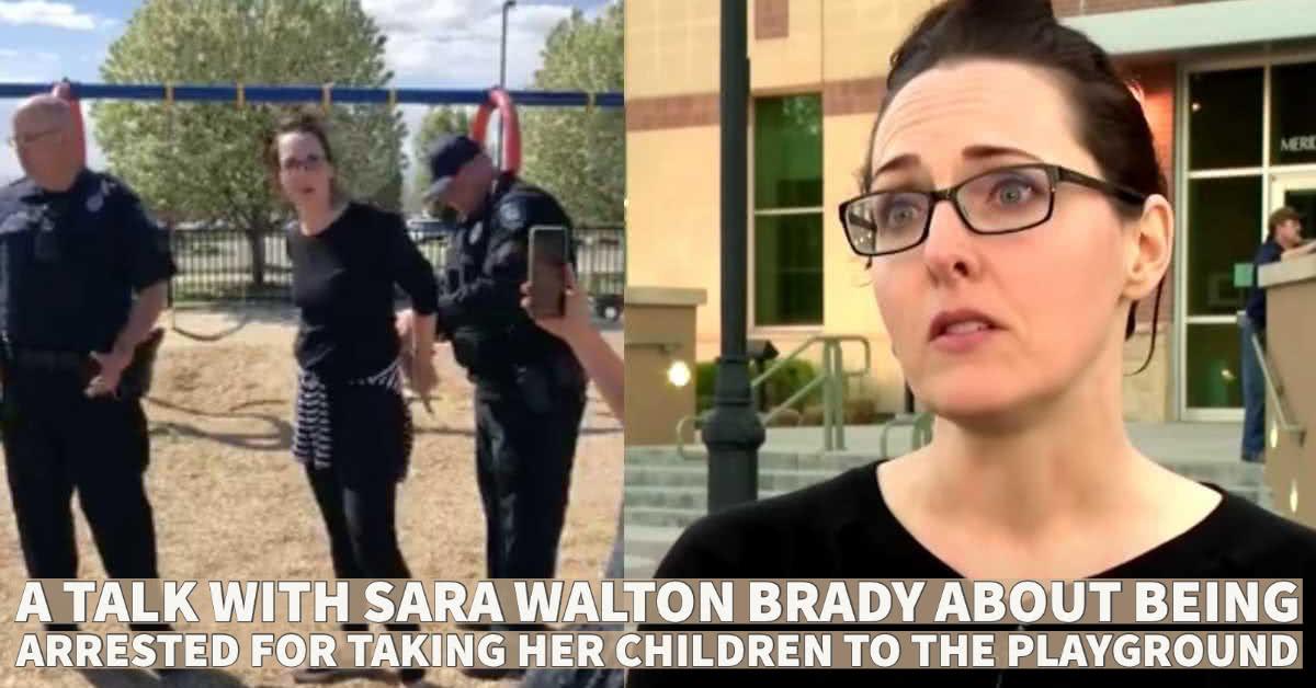 Sara Walton Brady Arrested